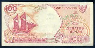 Uang lama pecahan 100 Rupiah