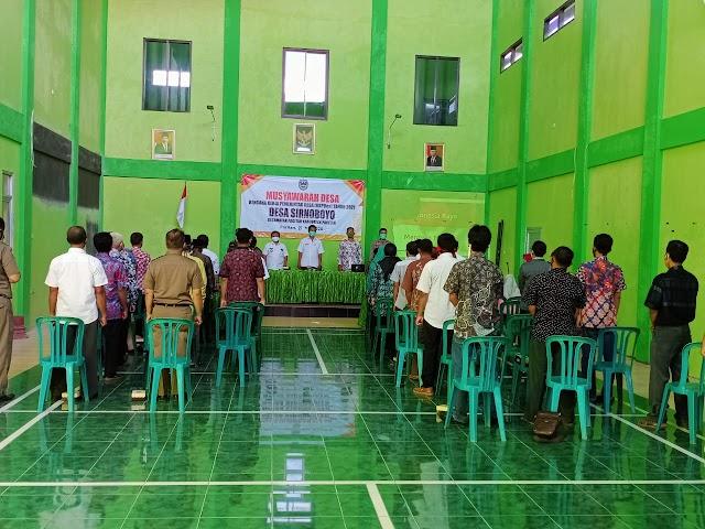 Musdes Sinergisitas Pemerintah Desa dan BPD dalam Perencanaan Pembangunan Di Desa Sirnoboyo