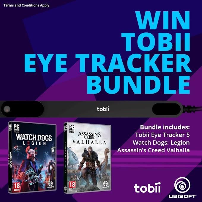 Sorteio de um Tobii Eye Tracker + Games