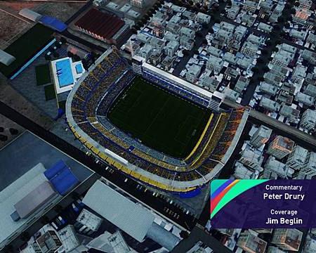 PES 2021 Exterior View La Bombonera Stadium