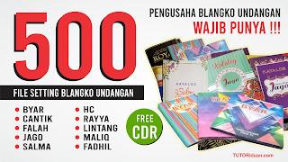 Free 500+ File Blangko Undangan CDR