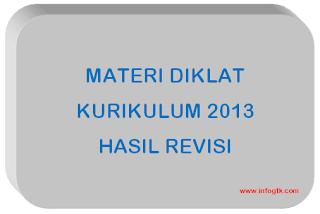 Materi Diklat Kurikulum 2013 Hasil Revisi Jenjang SMP