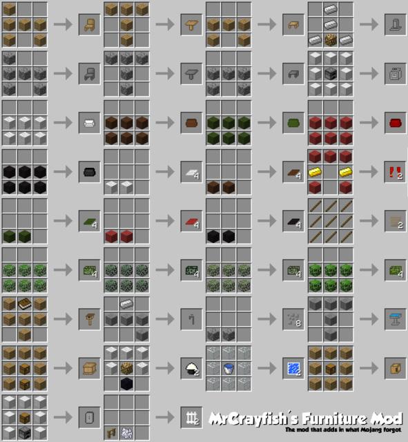 تحميل مود الاثاث ماين كرافت للكمبيوتر 1.12.2