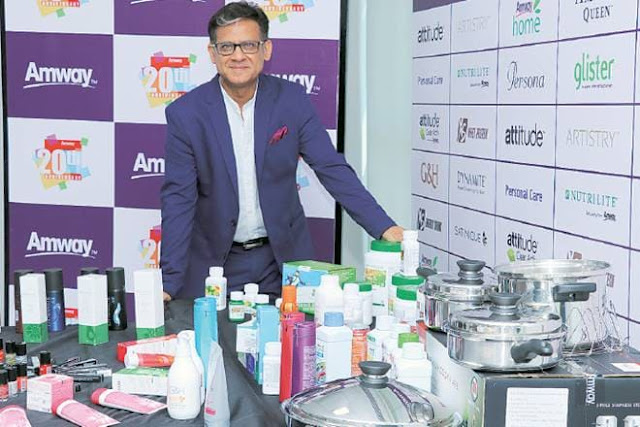 Amway India aims to be a billion-dollar company by 2025