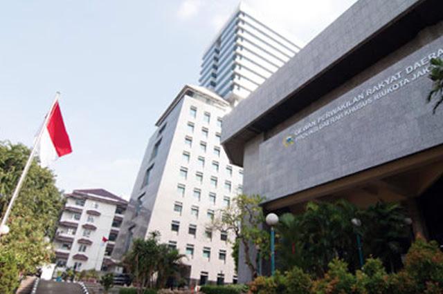 Gedung DPRD DKI Jakarta Kembali Dibuka
