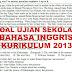 Soal dan Kunci Jawaban Ujian Sekolah Bahasa Inggris SMP Kurikulum 2013 Tahun Pelajaran 2019/2020
