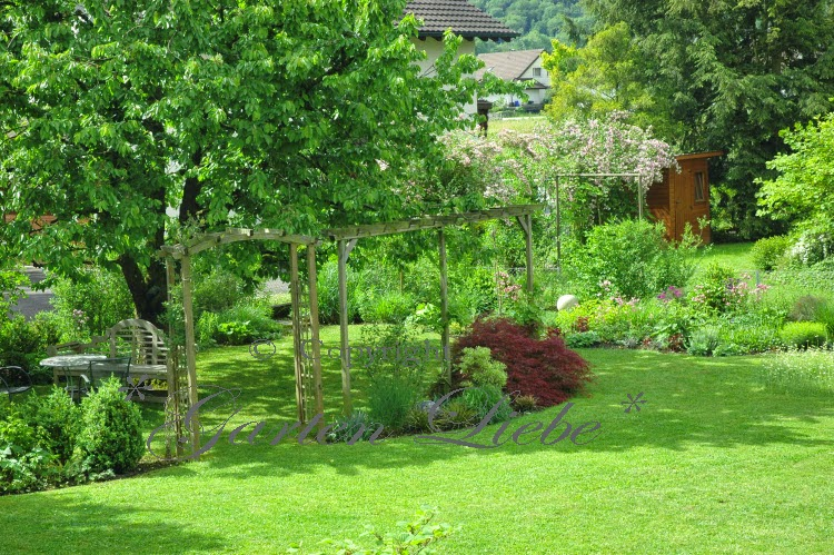 Garten liebe vorher nachher gartenbilder - Kleinen garten gestalten vorher nachher ...