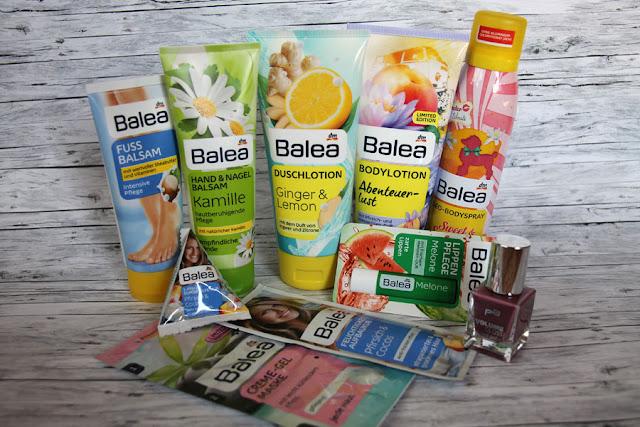 Blog-Gewinnspiel mit Balea Produkten und p2 Nagellack