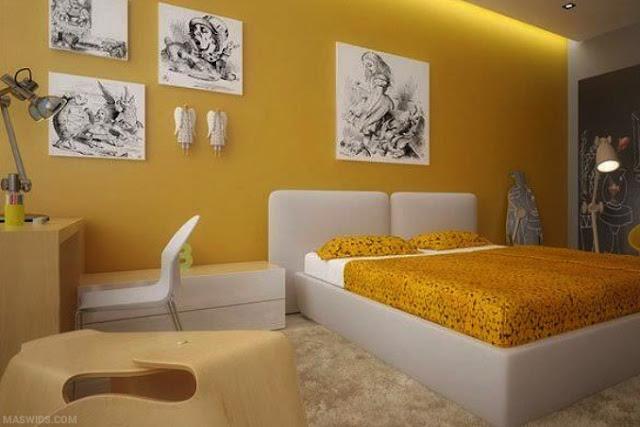 pilihan-warna-cat-dekorasi-rumah-kuning
