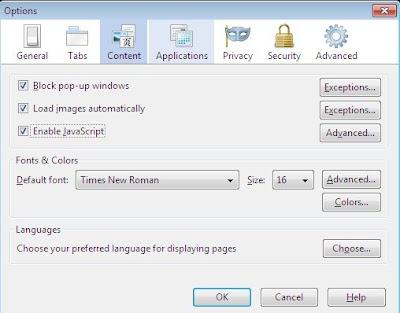cara mengaktifkan klik kanan pada laptop dengan mozilla
