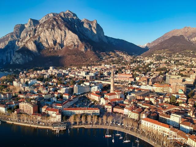 Miasto Lecco Włochy
