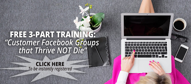 "Who's joining us tomorrow? We've got a LIVE Zoom training and Q&A on ""Customer Facebook Groups that Thrive Not Die."" Two times to register:  Daytime - Thursday, September 28th 10:30 am PT/11:30 am MT/12:30 pm CT/1:30 pm ET  Evening - Thursday, September 28th 5:30 pm PT/6:30 pm MT/7:30 pm CT/8:30 pm ET  Go here to sign up for the Q&A and receive the free 3 part series: https://social.lifelinecoaches.com/bonus-qa/  We've just launched our ""Social Media Communities that WORK"" ecourse - your step-by-step program for building a community of customers that increases your income! Visit the library and click on the button that reads 'Social Media Communities that WORK!"