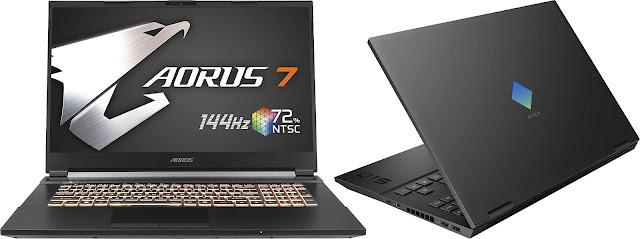 Gigabyte AORUS 7 KB-7ES1130SD vs HP Omen 15-en0017ns