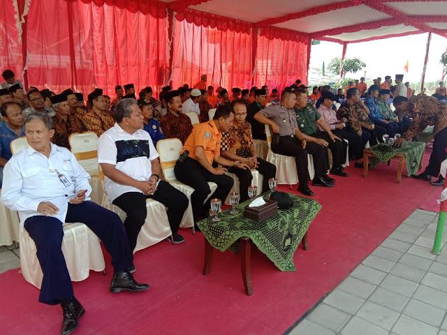 Kodim Karanganyar - Danramil Mojogedang Wakili Dandim 0727 Karanganyar Menghadiri Penutupan Diklat SAR Ponpes MTA Desa Pojok