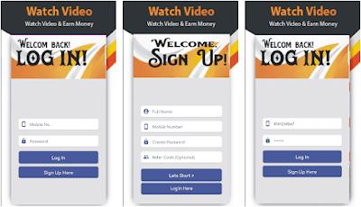 Aplikasi earn money - video & apps