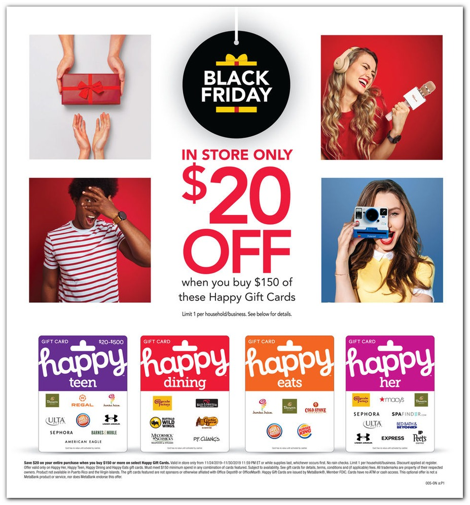 Office Depot® & Officemax® Black Friday 2019 page 4