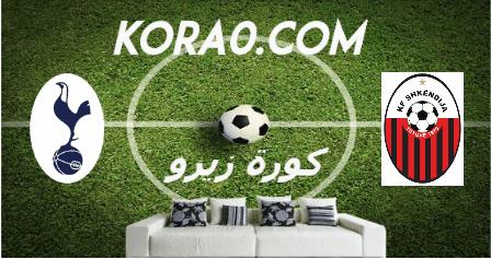 مشاهدة مباراة توتنهام وشكينديا بث مباشر اليوم 24-9-2020 الدوري الأوروبي