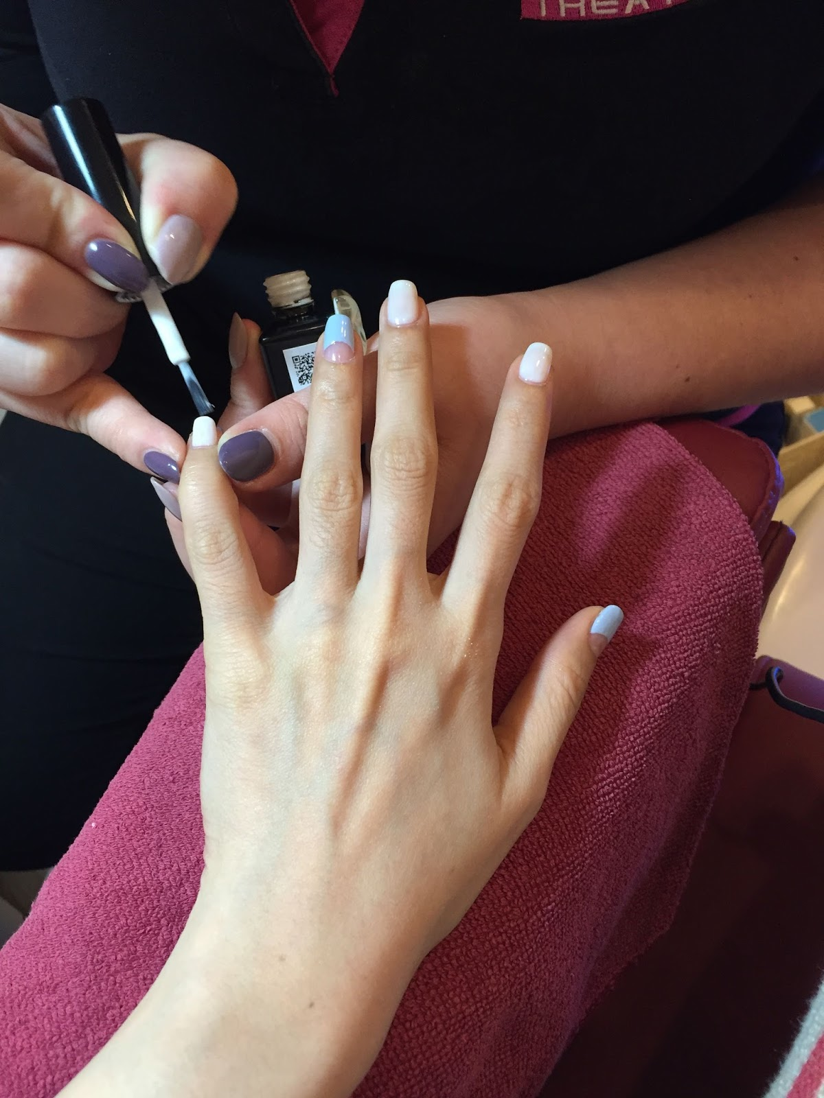Gelish Manicure and Pedicure and Eyelash Extensions in Vanity by ...