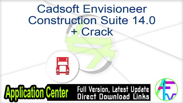 Cadsoft Envisioneer Construction Suite 14.0 + Crack