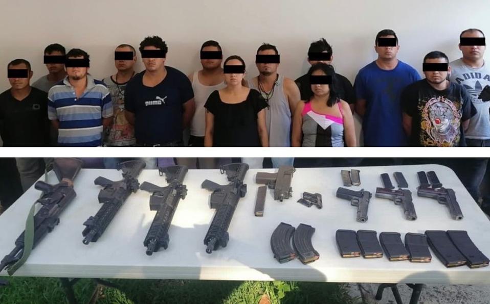 Caen 13 Sicarios del CJNG tras enfrentamiento con Estatales en Veracruz