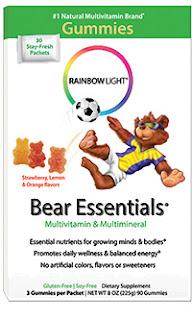 Rainbow Light's Gummy Bear Essentials box