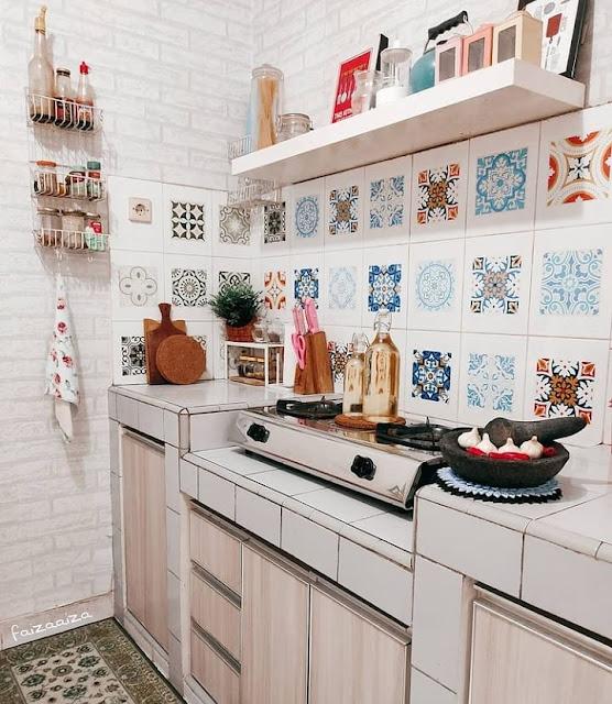 Dekorasi Dapur Minimalis Modern Ukuran Kecil