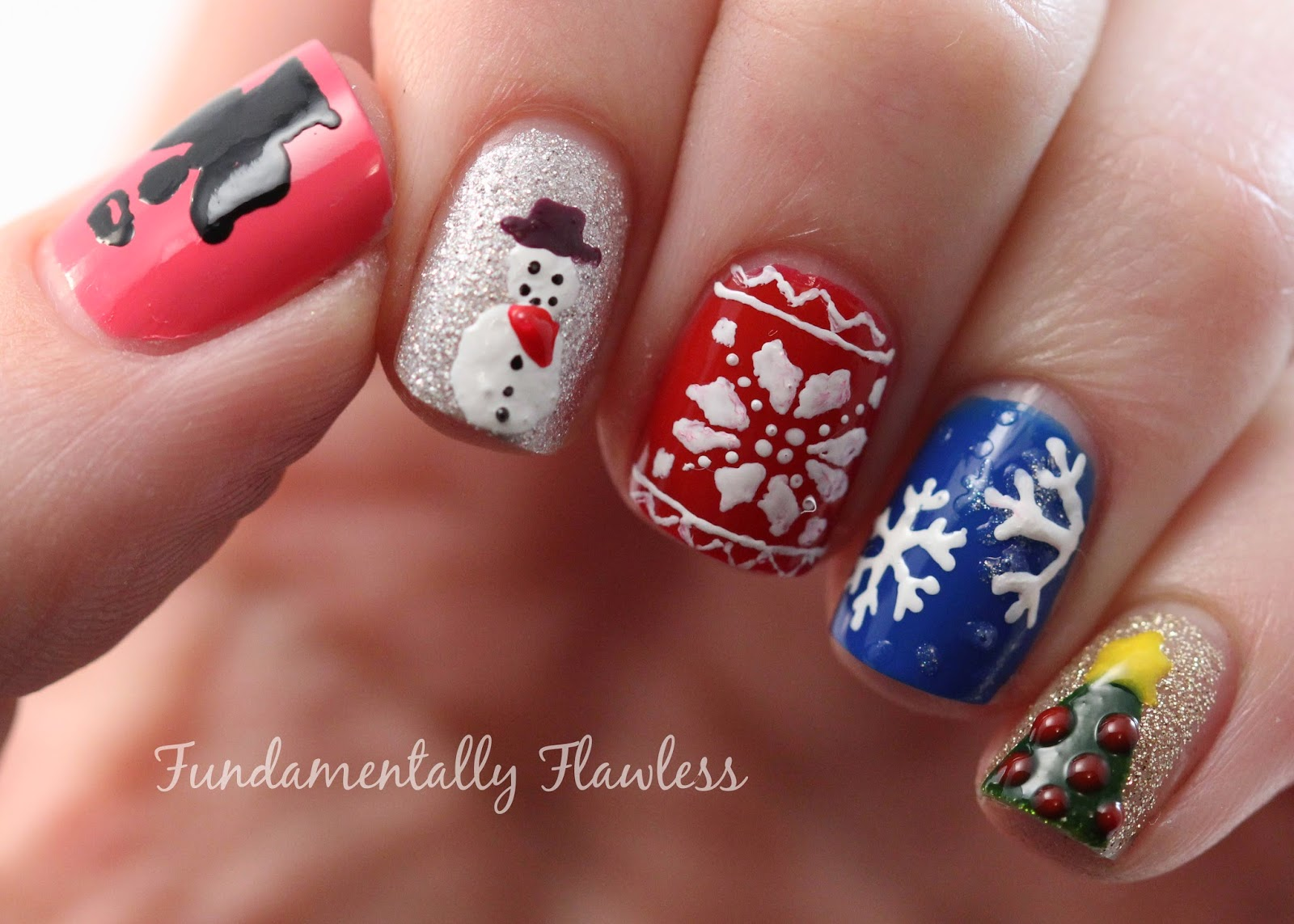 Christmas Present Nail Designs Gallery - easy nail designs ...