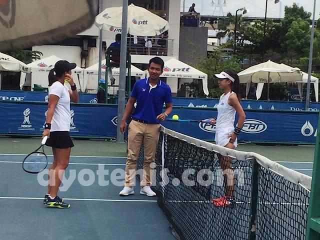 Kalahkan Petenis Jepang, Aldila Sutjiadi Melaju ke Babak 2 ITF World Tennis Tour Thailand 25K