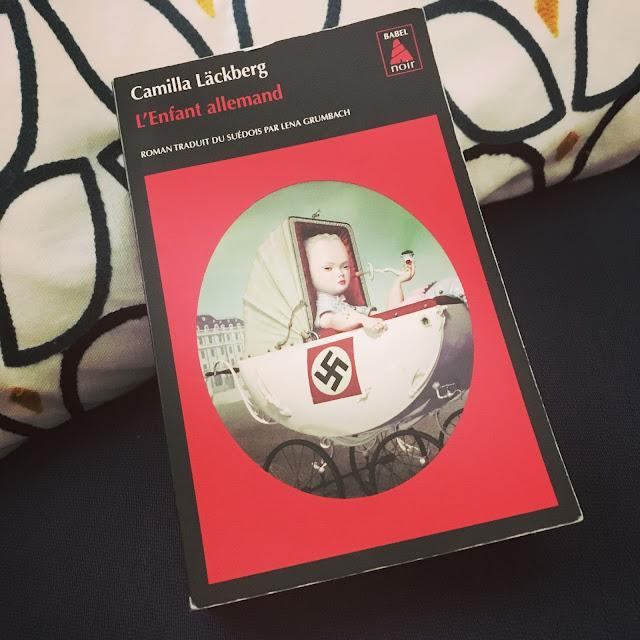 Chronique littéraire L'enfant allemand par Mally's Books