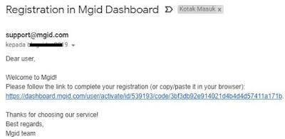 Cara cepat blog diapprove MGID2
