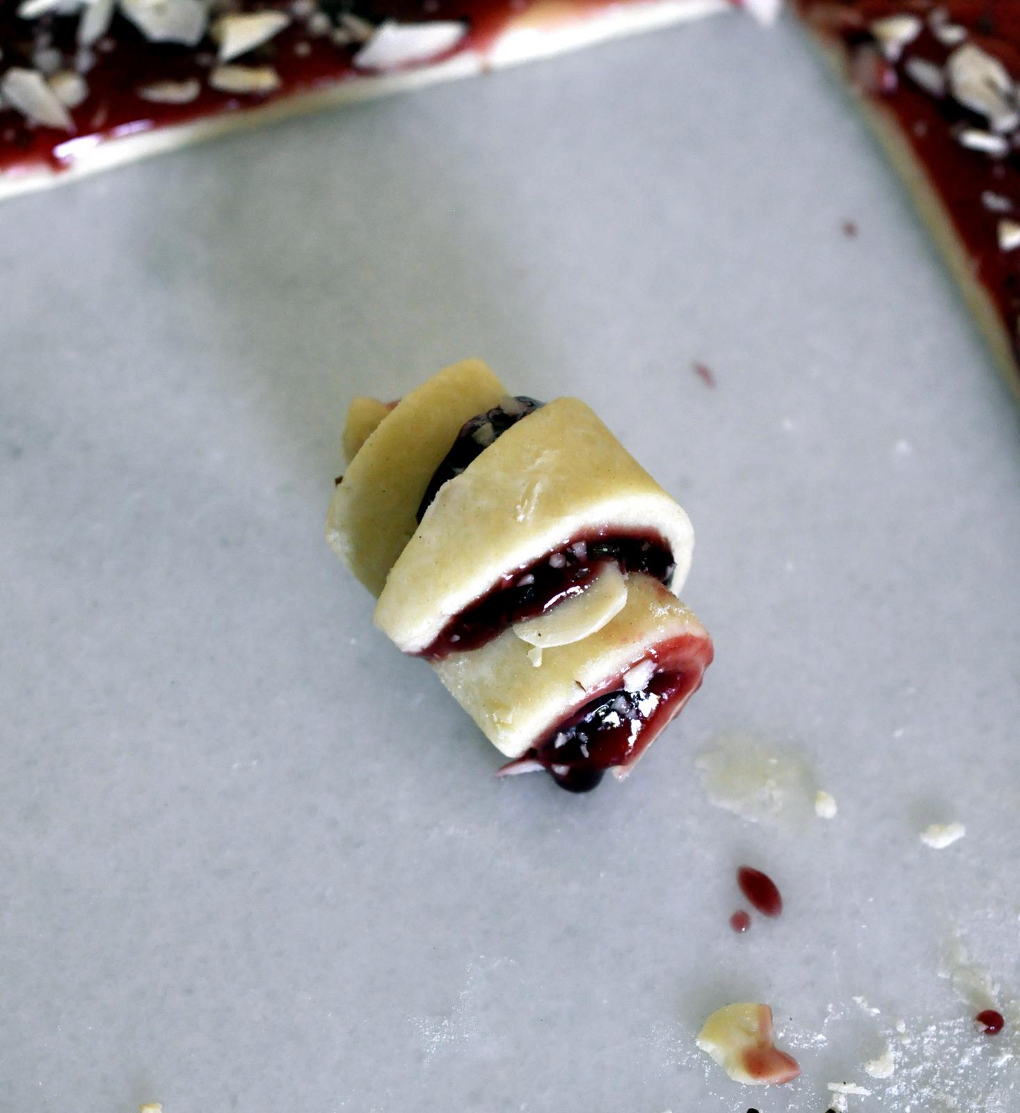 Raspberry Rugelach | Taste As You Go