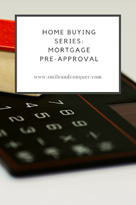 Getting pre-approved for a mortgage