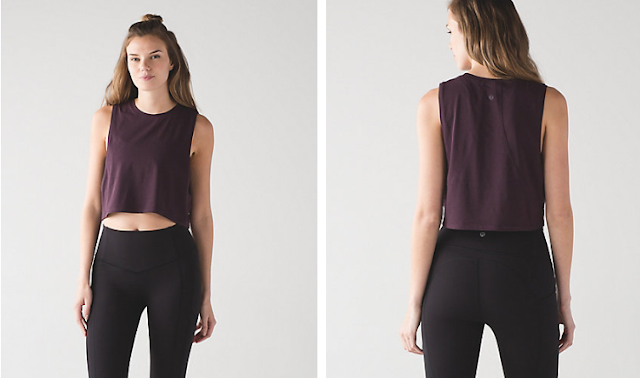 lululemon black-cherry-muscle-tank