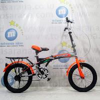16 jetforce folding bike sepeda lipat