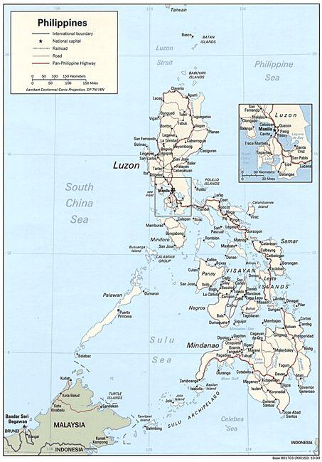 Letak Geografis dan Astronomis Filipina, Iklim, Bentang Alam, Bentuk Pemerintahan, Keadaan Ekonomi Sosial Budaya serta Luas dan Batas Wilayah Negara Filipina