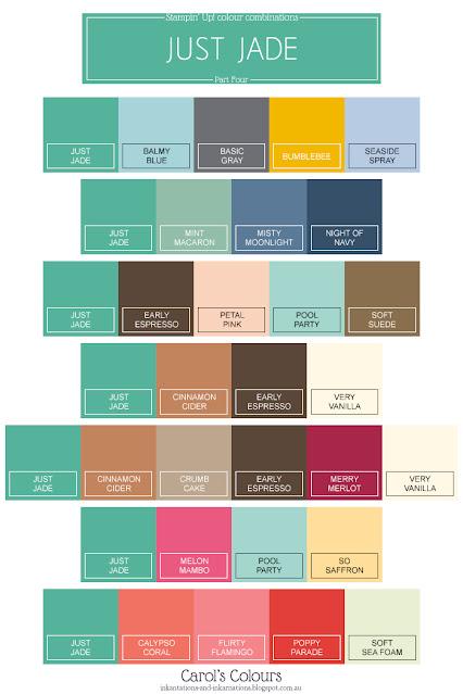 Just Jade colour combination Part Four