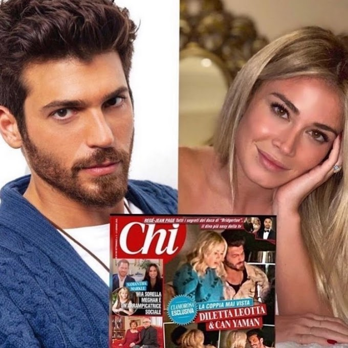 Can Yaman and Diletta Leotta, five days of passion in a hotel in Rome