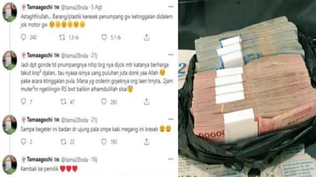 Masya Allah!!!Kisah Driver Ojol Kembalikan Uang Puluhan Juta yang Tertinggal Milik Penumpang