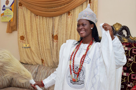Checkout The Seven(7) Beautiful Nigerian Female Kings In Charge Of Their Kingdom.