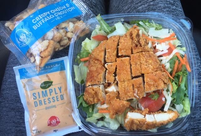 Wendy's-Spicy-Buffalo-Chicken-Salad