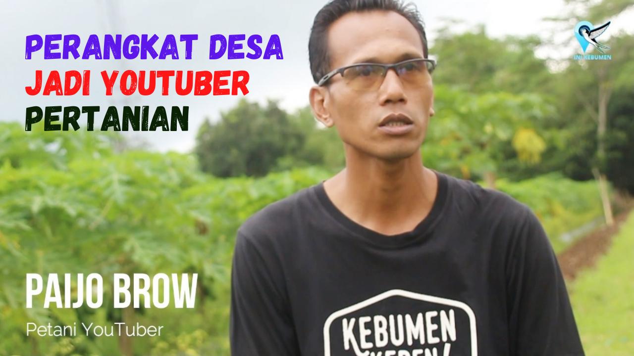 Perangkat Desa Karangrejo Petanahan Sukses jadi Youtuber Pertanian