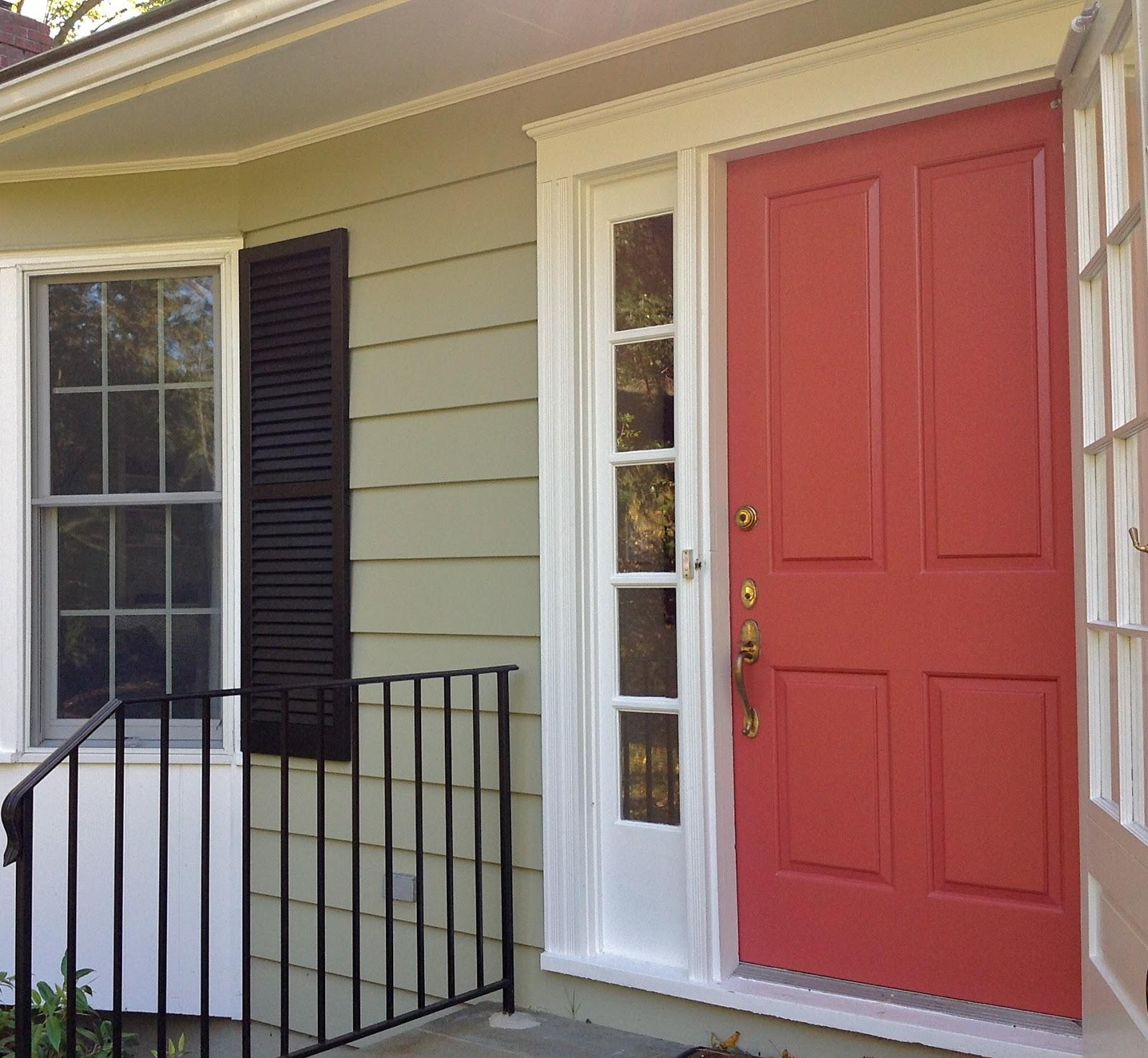 Benjamin Moore Red Front Door Sevenstonesinc