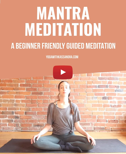 Whether you think meditation is just too hard and always give up, or you haven't even really tried it because you're nervous of not doing it right, this mediation is a great way to start!