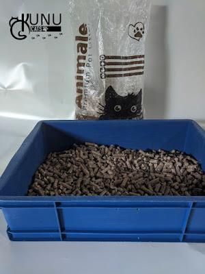 Jenis wood pellet kucing
