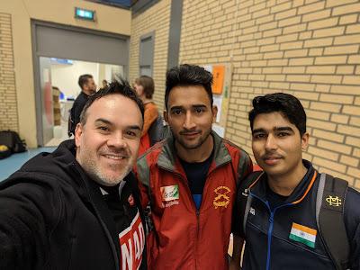 Me, Nikhil Kumar, and Saurabh Chaudhary
