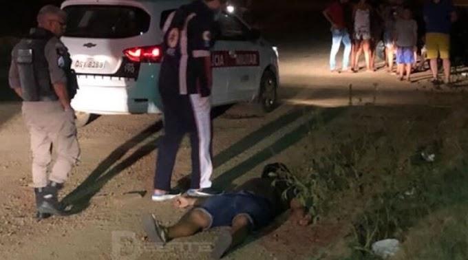 Homem é morto no sertão após trocar tiros com a PM na noite desta sexta (08)