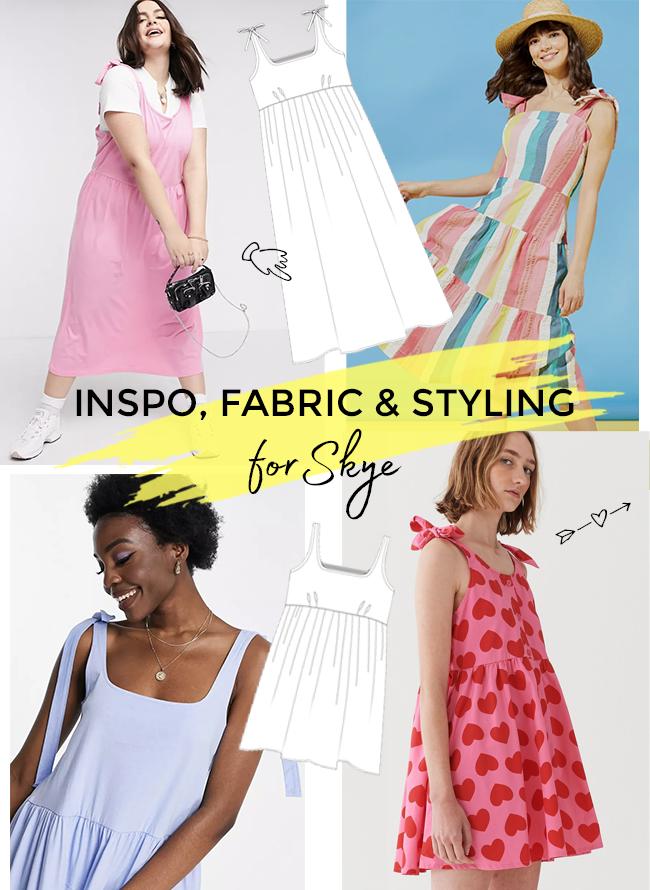 Let's Sew Skye! Inspo & Fabric Shopping