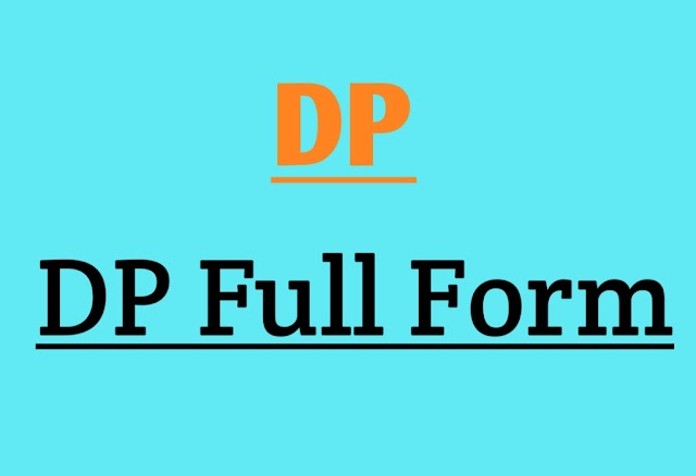 DP Full Form and Explanation on Full Form of DP in Electrical