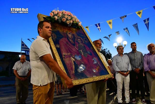 Η Νέα Κίος τιμά την Παναγία την Τριχερούσα (ζωντανή μετάδοση)