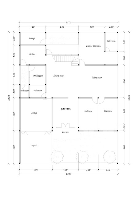 Luxury house plan 13